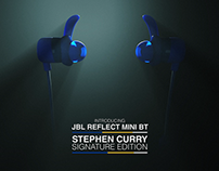 JBL Reflect Mini BT - Stephen Curry signature edition
