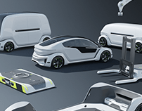 Tesla Pod - Support Equipment - Design Master's Thesis