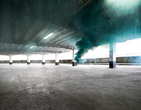 Smoke - in the car park