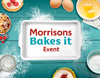 / Morrisons • Bakes it