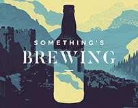 Conwy Brewery - Illustration, Styling and Packaging