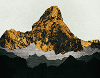 Iconic Mountains Print Series