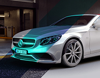Full CGI - Mercedes AMG S63