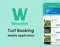 Wooslot Turf Booking
