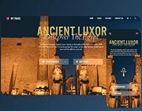 Travel website - responsive experience