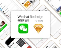 Wechat Redesign For iOS 10