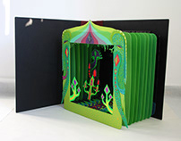 Book Art Object - Tunnel books
