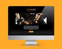 Kevin Kiner Website Redesign