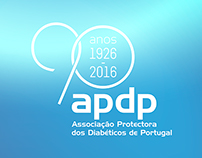 Commemorative stamp of the 90th anniversary of the APDP