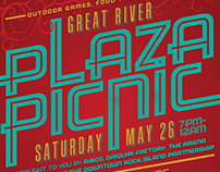 Great River Plaza Picnic - Downtown District
