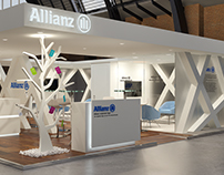 ALLIANZ booth design in paris