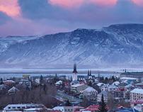 Perlan - Observation deck, March 2020 Iceland