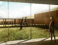 Visualisations for GPY Arquitectos, somewhere in Africa