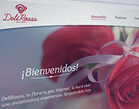Minisite / DeliRosas