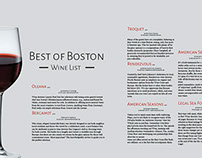 Boston Magazine: Four page magazine spread