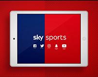 Sky Sports Digital Branding
