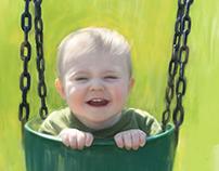 Sunny day, playground