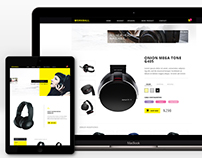 Workball shoping PSD template