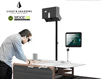 WOOD3D VR Simulation Table