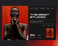 The Best Studio — Photostudio / UX-UI Design Web