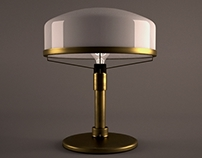 Brass Lamp Design