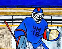 Серия работ к чемпионату мира по хоккею 2016