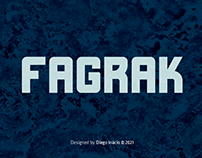 FAGRAK - FREE BOLD FONT