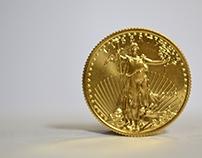 1/4 Oz American Gold Eagle Coins