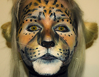 TIGER Full Face - Theatrical Make-up