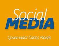Social Media // Governador Moisés