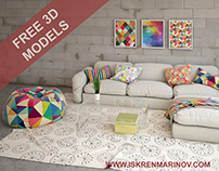 FREE 3D MODELS SOFA COMP