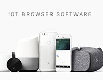IOT Browser Application & Website UI/UX Design