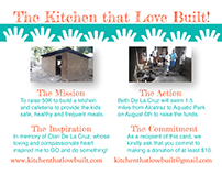 Kitchen that Love Built - Commitment Card
