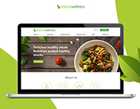 Restore Wellness - Health & Nutrition Web Responsive