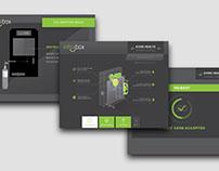 INTOXBOX BREATHALYZER KIOSK UI/ANIMATIONS