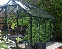Halls Qube 8x6 Greenhouse | 800 098 8877 | greenhousest