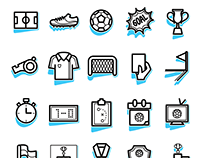 Soccer Icon Sets