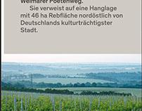 Werkstück Weimar: Sieben Worte Wein (Mobile Website)