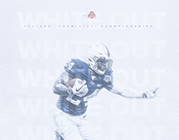 Penn State White Out | Personal Design by Grant Thomas