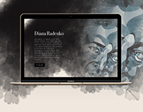 Diana Radenko redesign