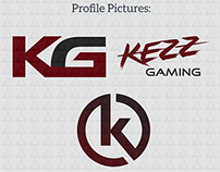 Kezz Gaming Logo Design