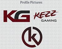 Kezz Gaming Logo Design