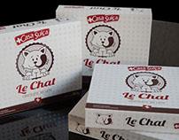 Criação de embalagem  LE CHAT - Casa Suíça