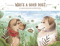 Children Book Illustration for PeeWee App