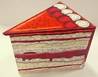 Sifcon International / Strawberry Cake Slice Tin