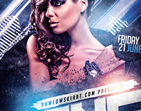 Special Guest DJ v3 PSD Flyer Template