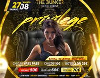 Flyer PRIVILEGE - Bunker BCN