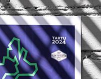 Tartu 2024 Event Series' Visual Identity