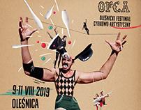 OFCA Circus Festival Identity 2019