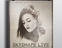 SKYSHAPE Poster Design